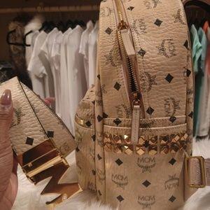 MCM Backpack & MCM Belt
